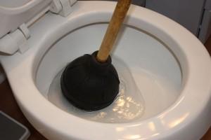 toiletbowl choke